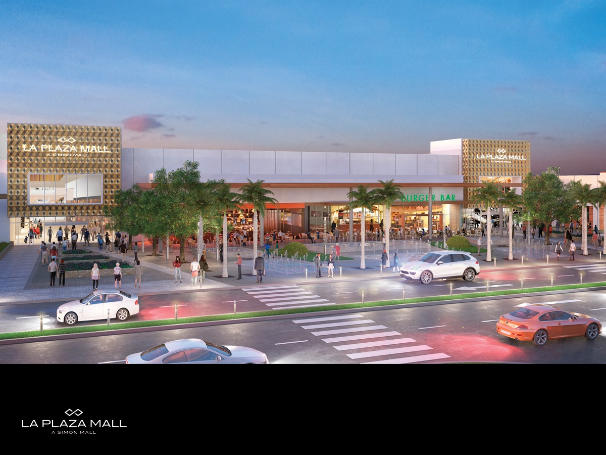 La Plaza Mall Expansion Exterior Rendering -March 2016
