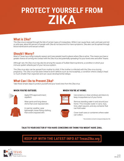 Protect Yourself from Zika
