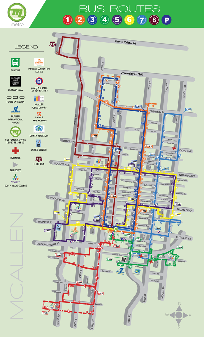 Metro Map And Schedule System Maps