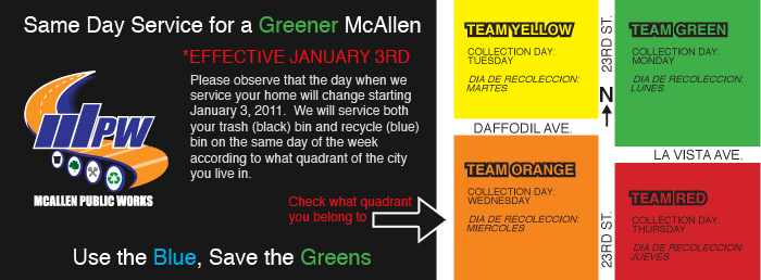 Same Day Service for a Greener McAllen