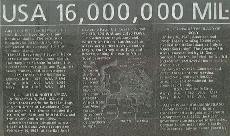veteran s war memorial of texas world war ii memorial walls